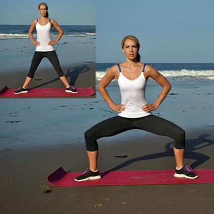 упражнения-за-жени-Приклякане-с-разтворени-крака
