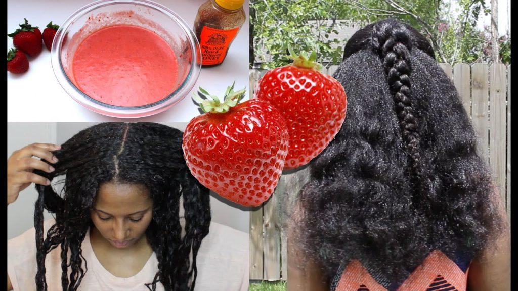 маска за коса с ягоди