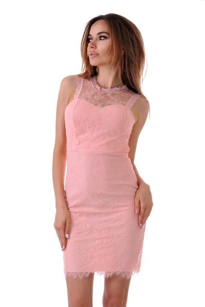 Елегантна къса рокля