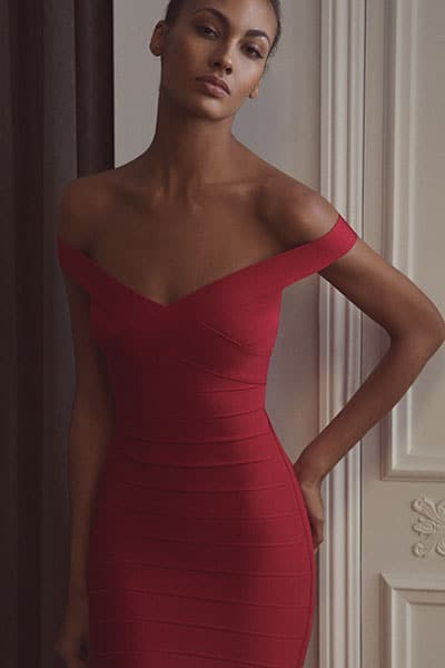 Стилна рокля с превръзка