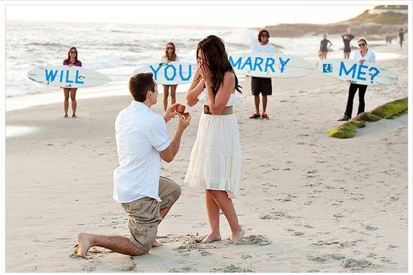 Предложения за брак на публично място