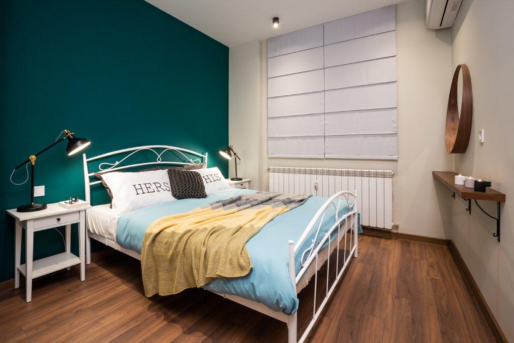 цветова схема за обзавеждане на спалня