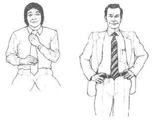 мъжки сигнали за ухажване