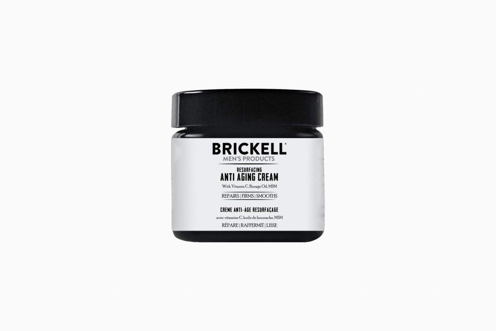 Brickell: Най -добрият крем за бръчки за мъже