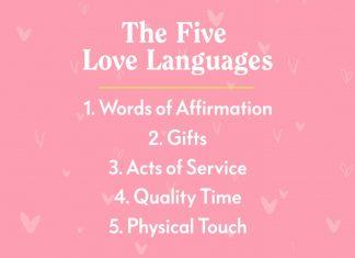 Кои са 5 -те езика на любовта-Как да ги използваме